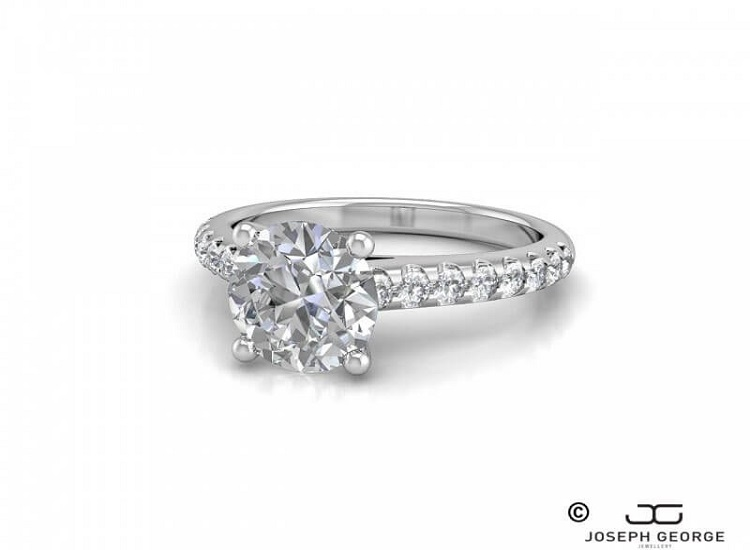 Diamonds and Marquise Cuts With Fascinating Background and Enchanting Present